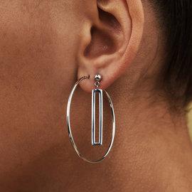 Selected Jewels Emma Vieve 925 sterling zilveren oorhangers