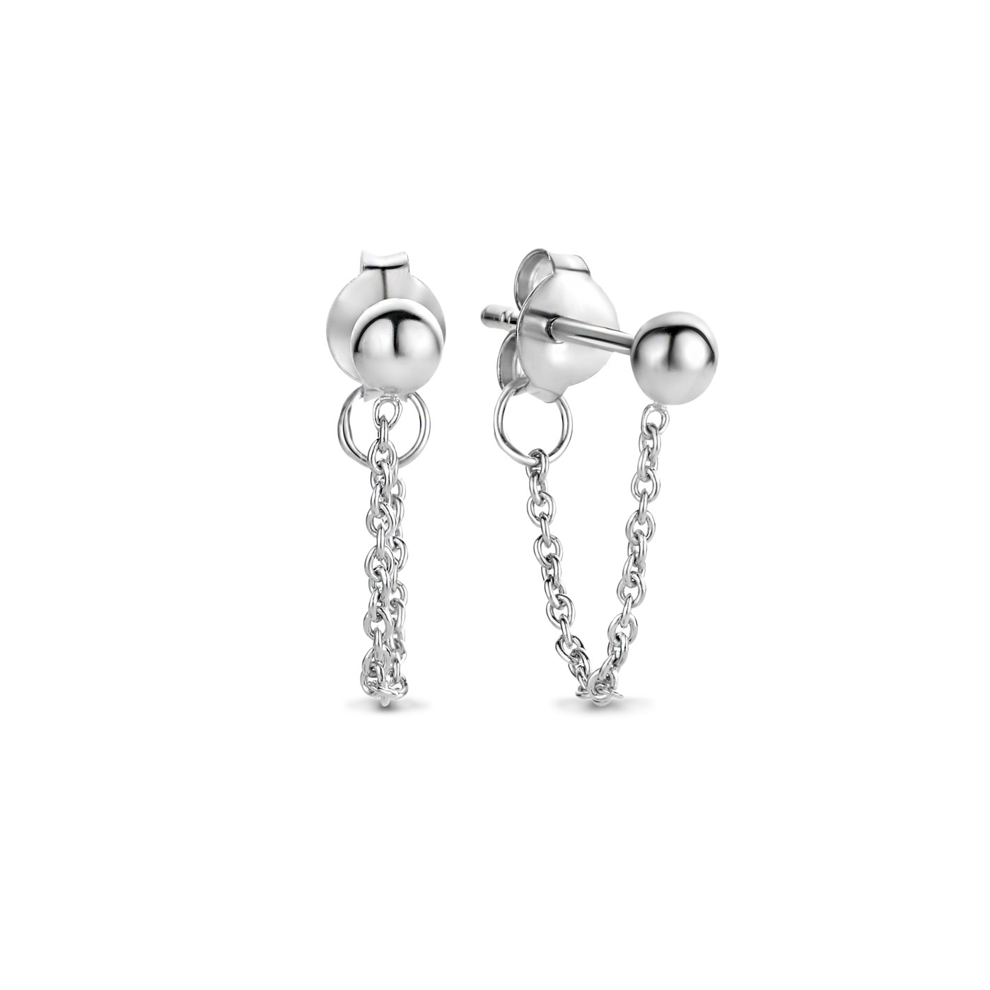 Selected Jewels Selected Gifts 925 sterling silver set of 2 pairs of earrings