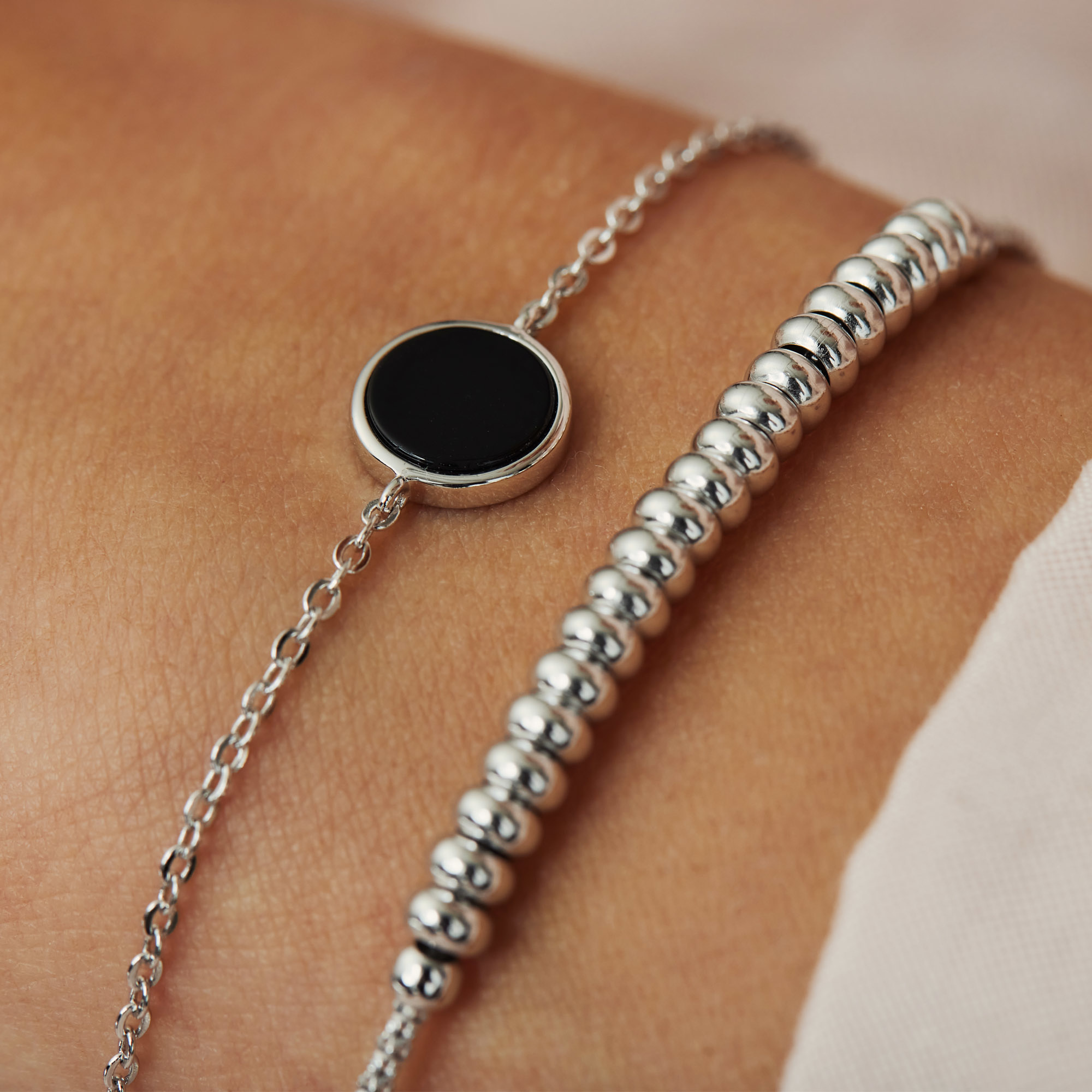 Selected Jewels Mila Sophie bracelet en argent sterling 925