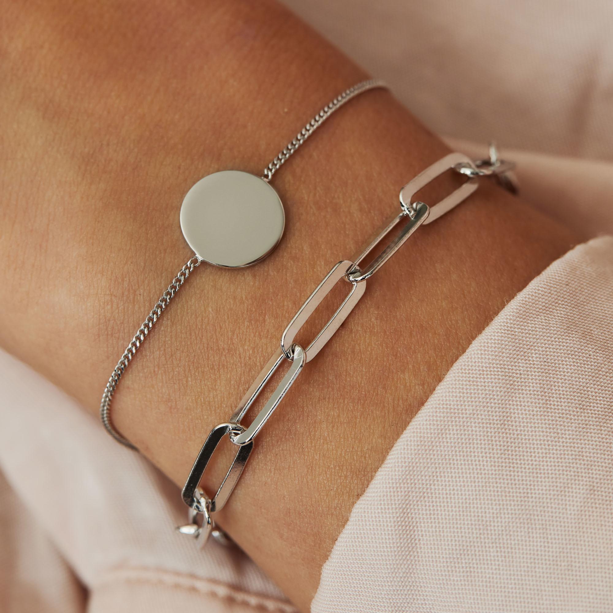 Selected Jewels Emma Jolie 925 Sterling Silber Armband