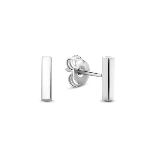 Selected Jewels Julie Charlotte clous d'oreilles en argent sterling 925