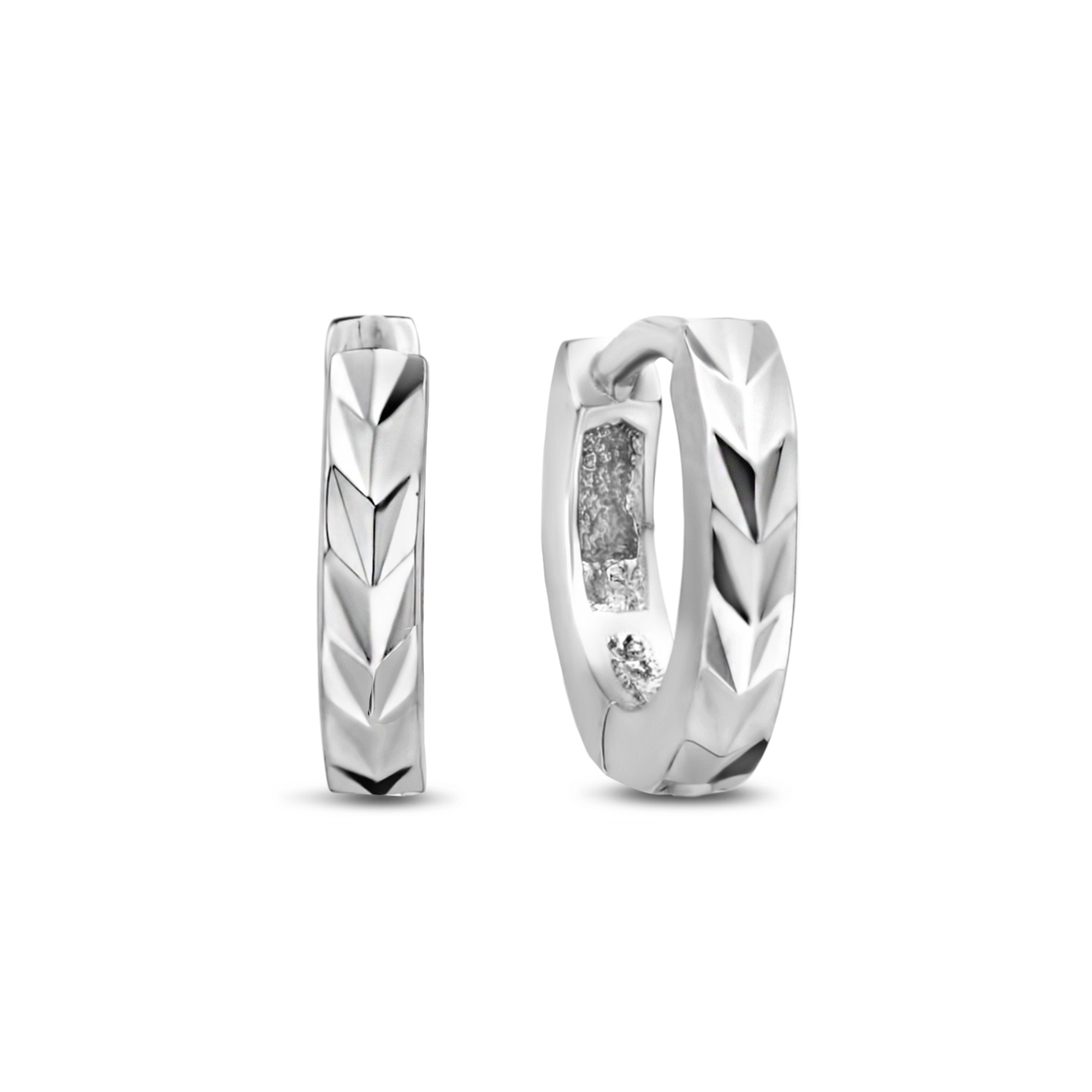 Selected Jewels Léna Claire creoler i 925 sterling silver
