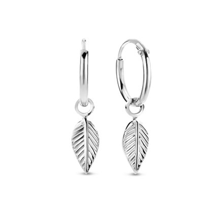 Selected Jewels Julie Lucie 925 sterling silver hoop earrings