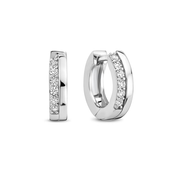 Selected Jewels Mila Elodie creoler i 925 sterling silver