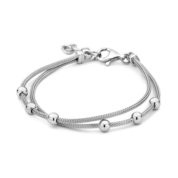 Selected Jewels Léna Nina bracciale in argento sterling 925