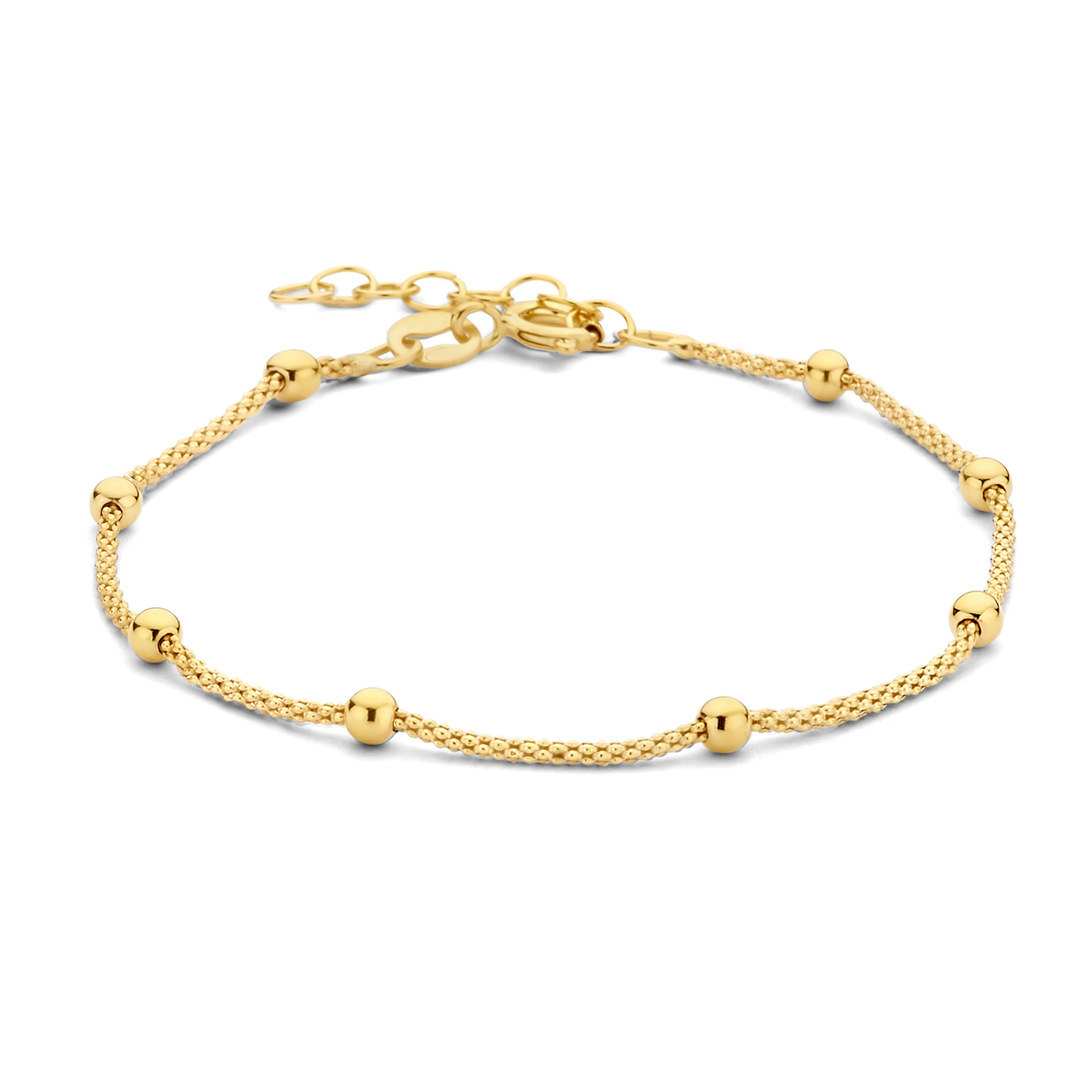 Selected Jewels Selected Gifts bracciale e collana color oro in argento sterling 925