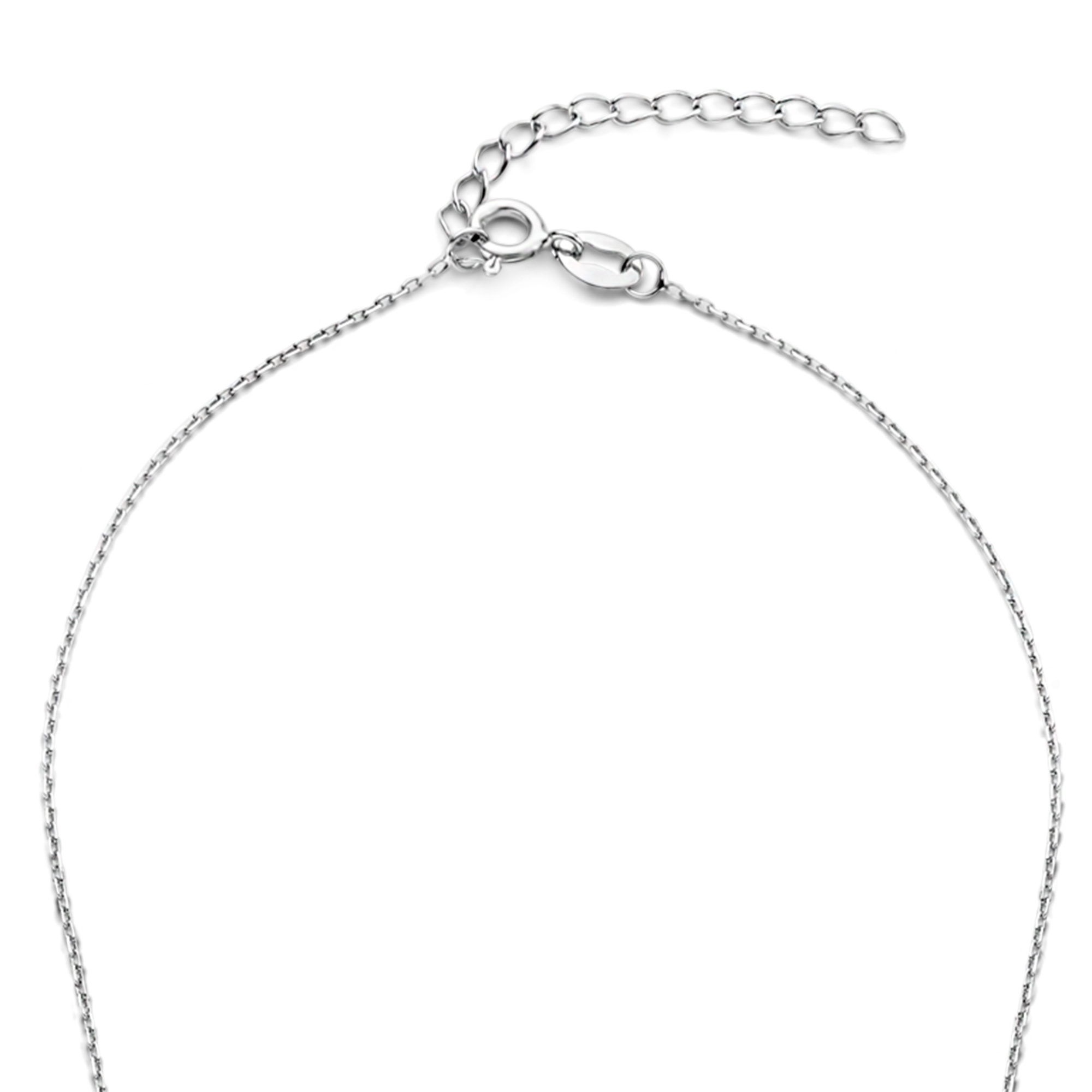 Selected Jewels Aimée 925 sterling silver necklace with hearts