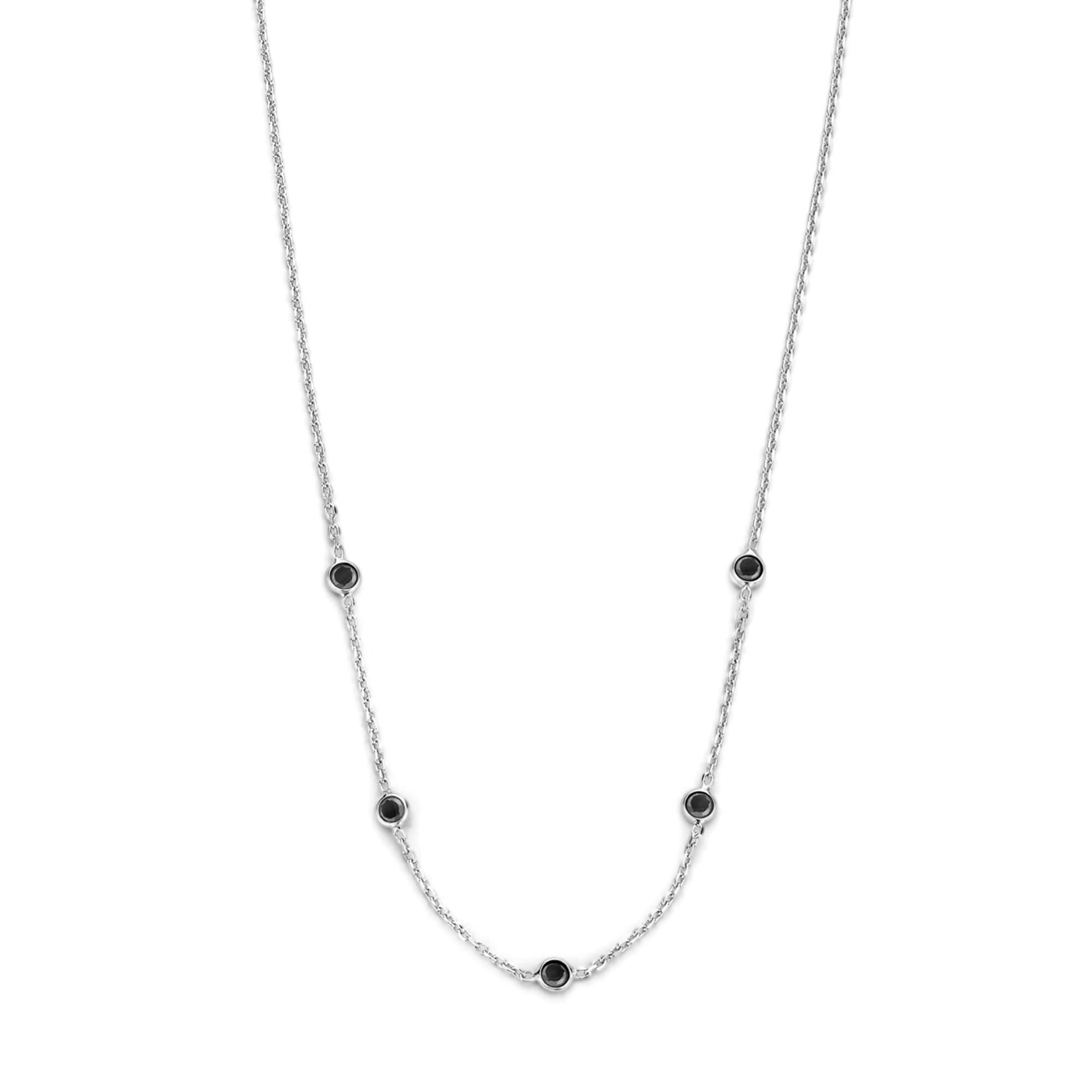 Selected Jewels Mila Sophie collana in argento sterling 925