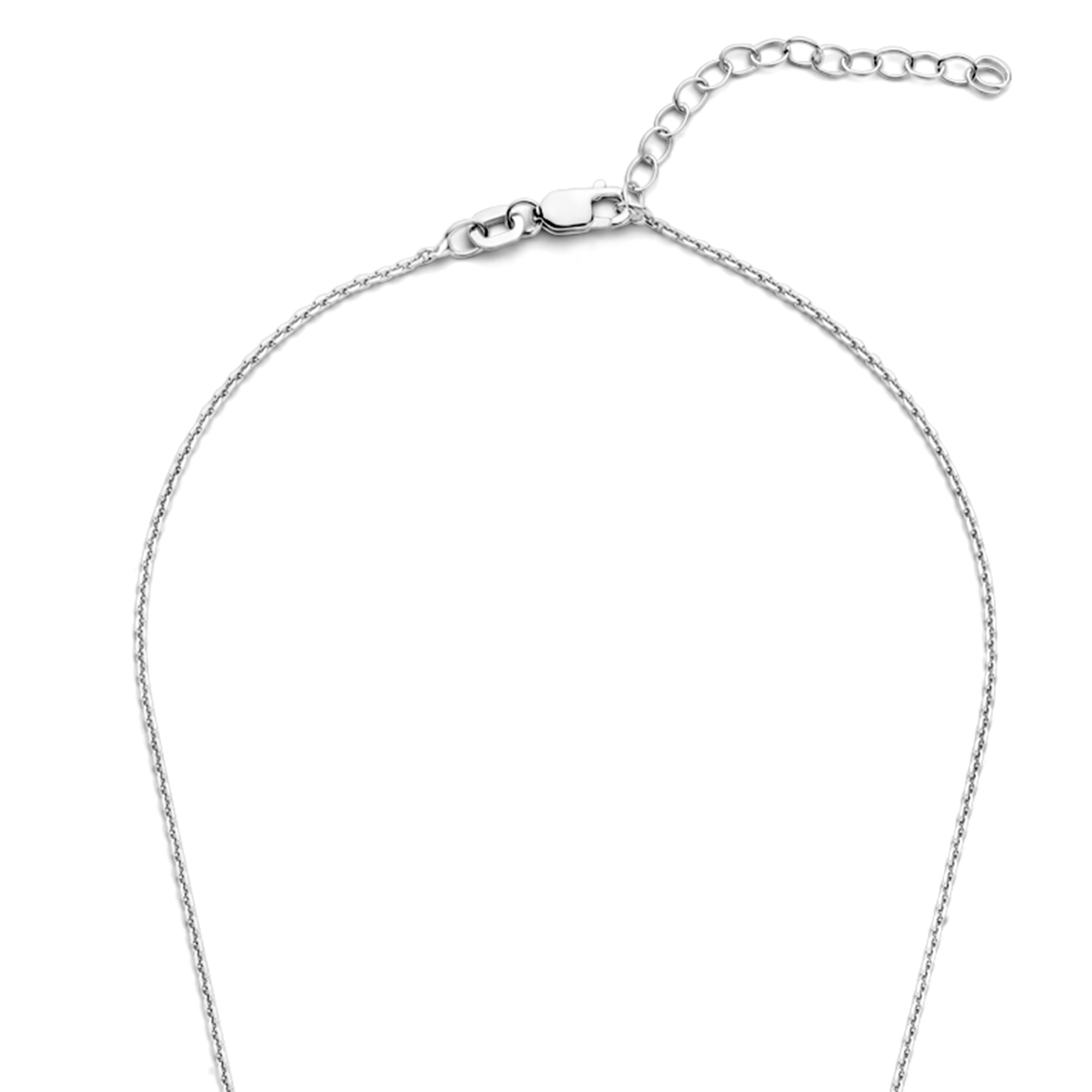 Selected Jewels Mila Elodie 925 sterling silver necklace with zirconia