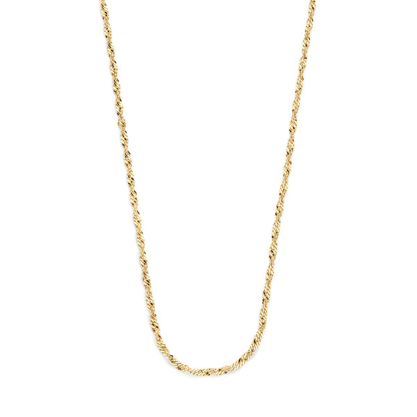 Selected Jewels Léna Inès 925 sterling silver gold colored necklace