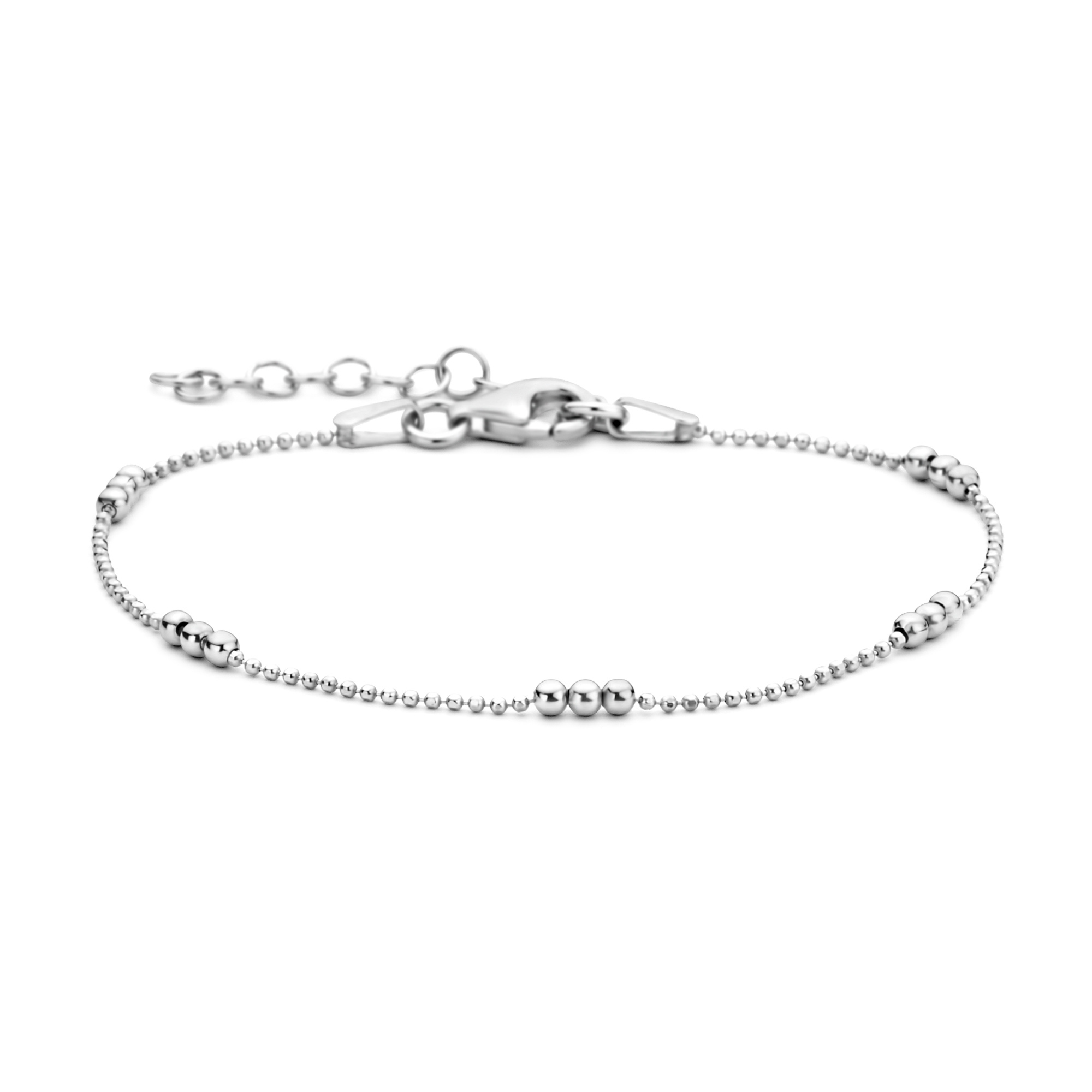Selected Jewels Selected Gifts 925 sterling silver set bracelets with spheres