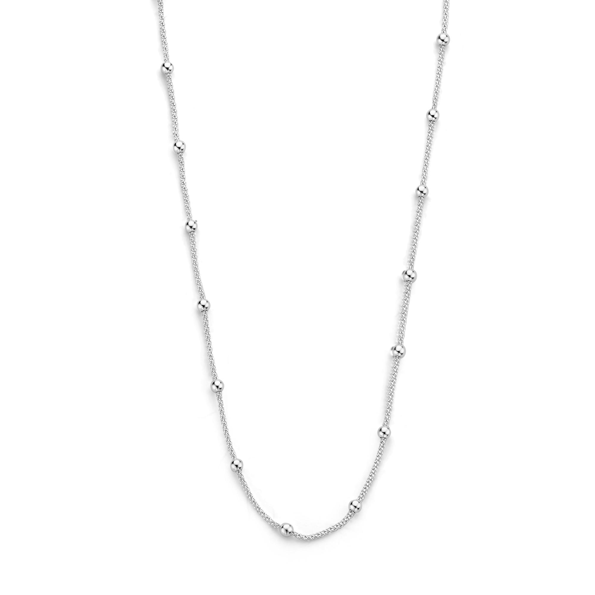 Selected Jewels Selected Gifts 925 sterling zilveren set armband en ketting met bolletjes
