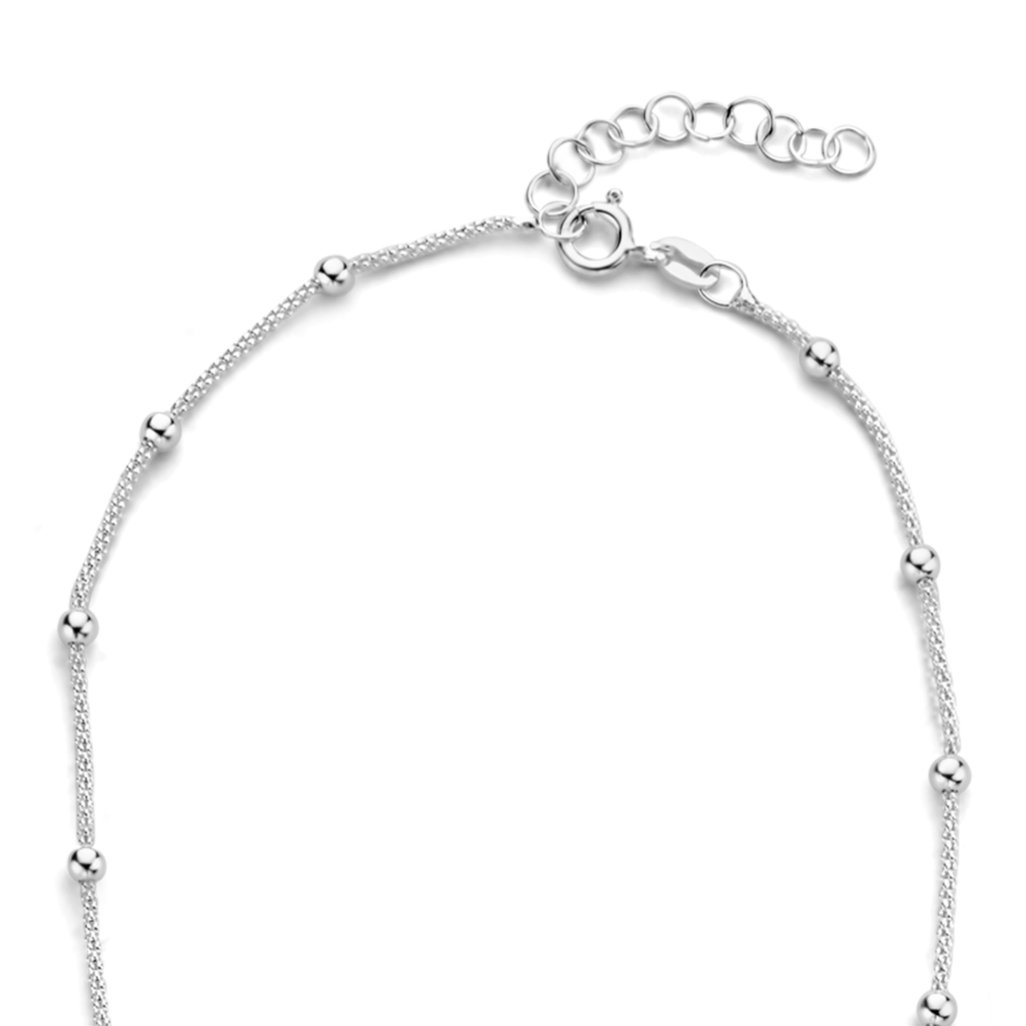 Selected Jewels Selected Gifts 925 Sterling Silber Satz Armband und Kette