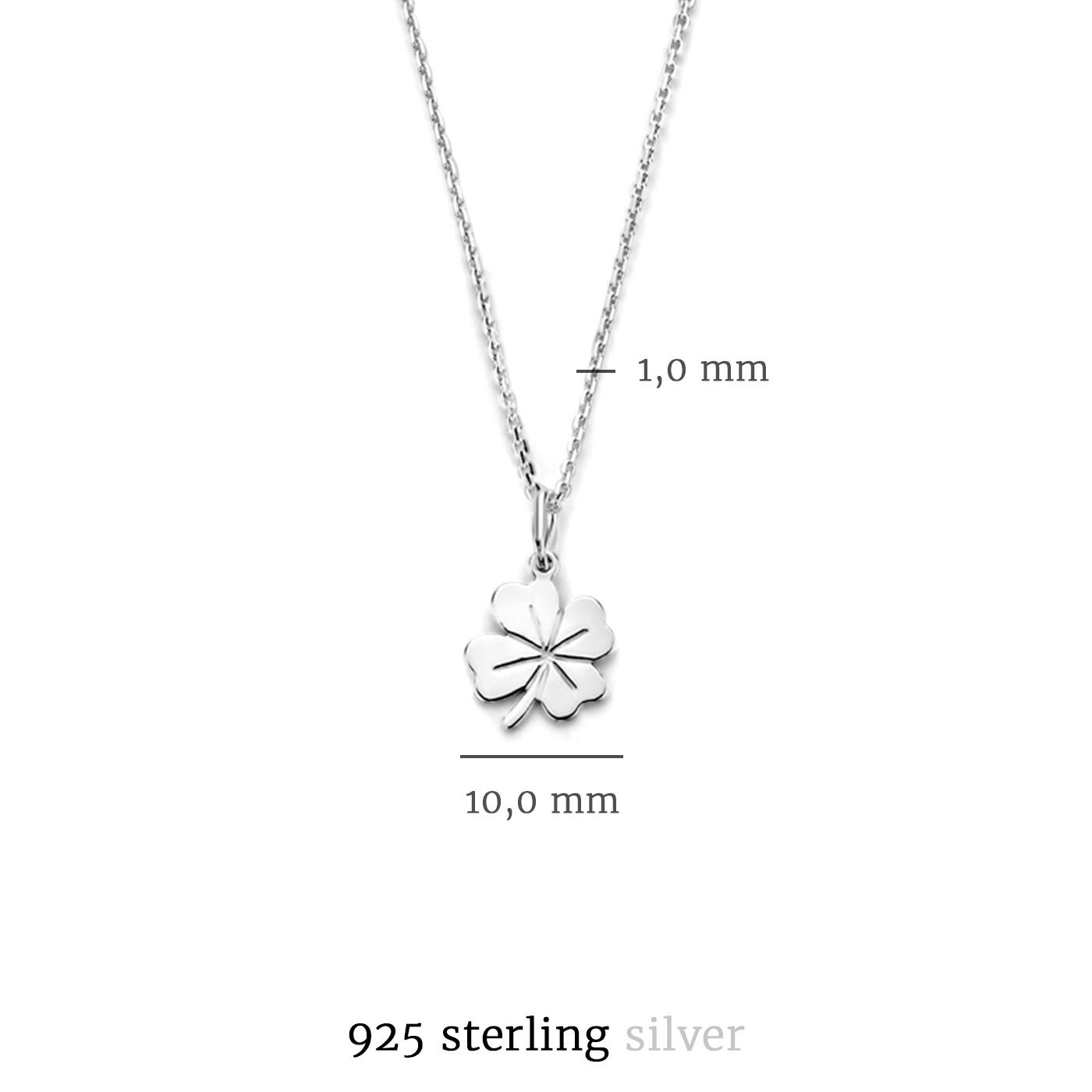 Selected Jewels Julie Olivia halsband i 925 sterling silver