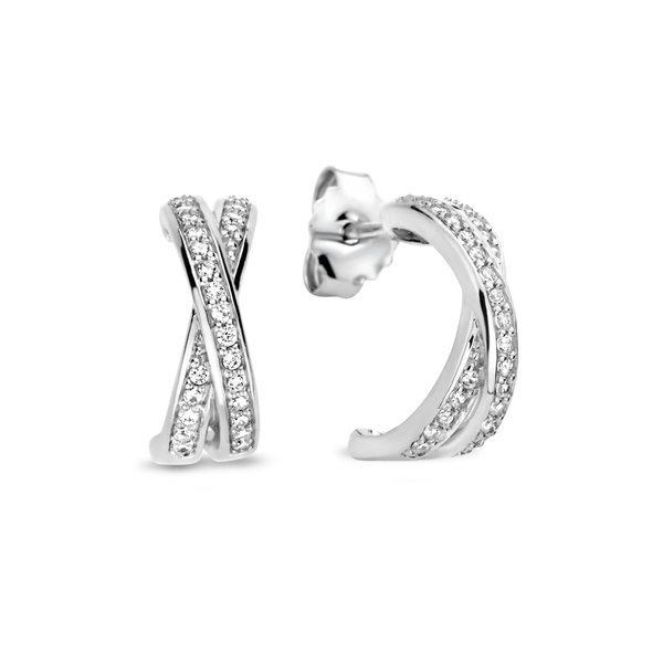 Selected Jewels Mila Elodie clous d'oreilles en argent sterling 925