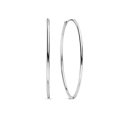 Selected Jewels Zoé 925 sterling silver hoop earrings