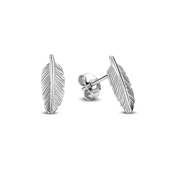 Selected Jewels Julie Lucie clous d'oreilles en argent sterling 925