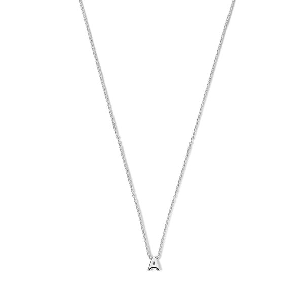 Selected Jewels Julie Chloé 925 sterling silver initial necklace