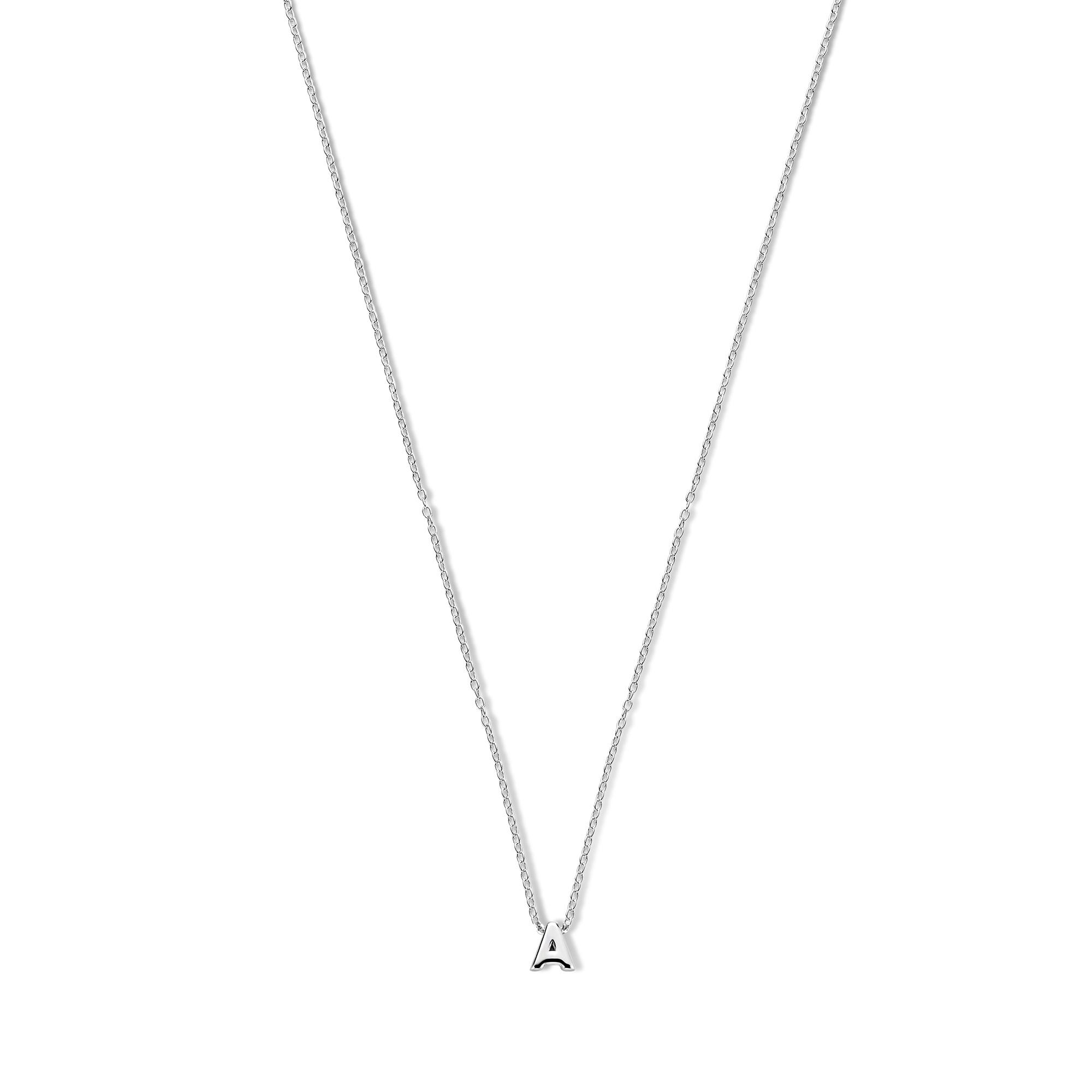 Selected Jewels Julie Céleste initialt halsband i 925 sterling silver