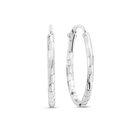 Selected Jewels Zoé 925 sterling sølv creoler