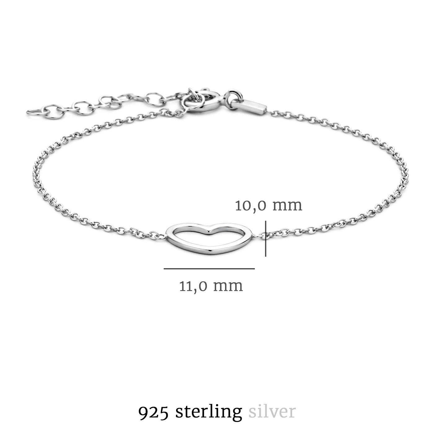 Selected Jewels Aimée 925 Sterling Silber Armband