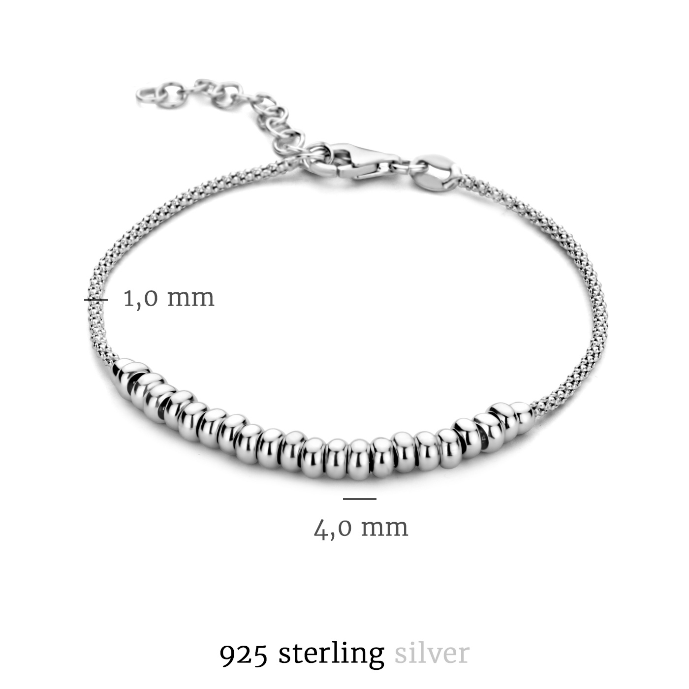 Selected Jewels Léna Nina 925 Sterling Silber Armband