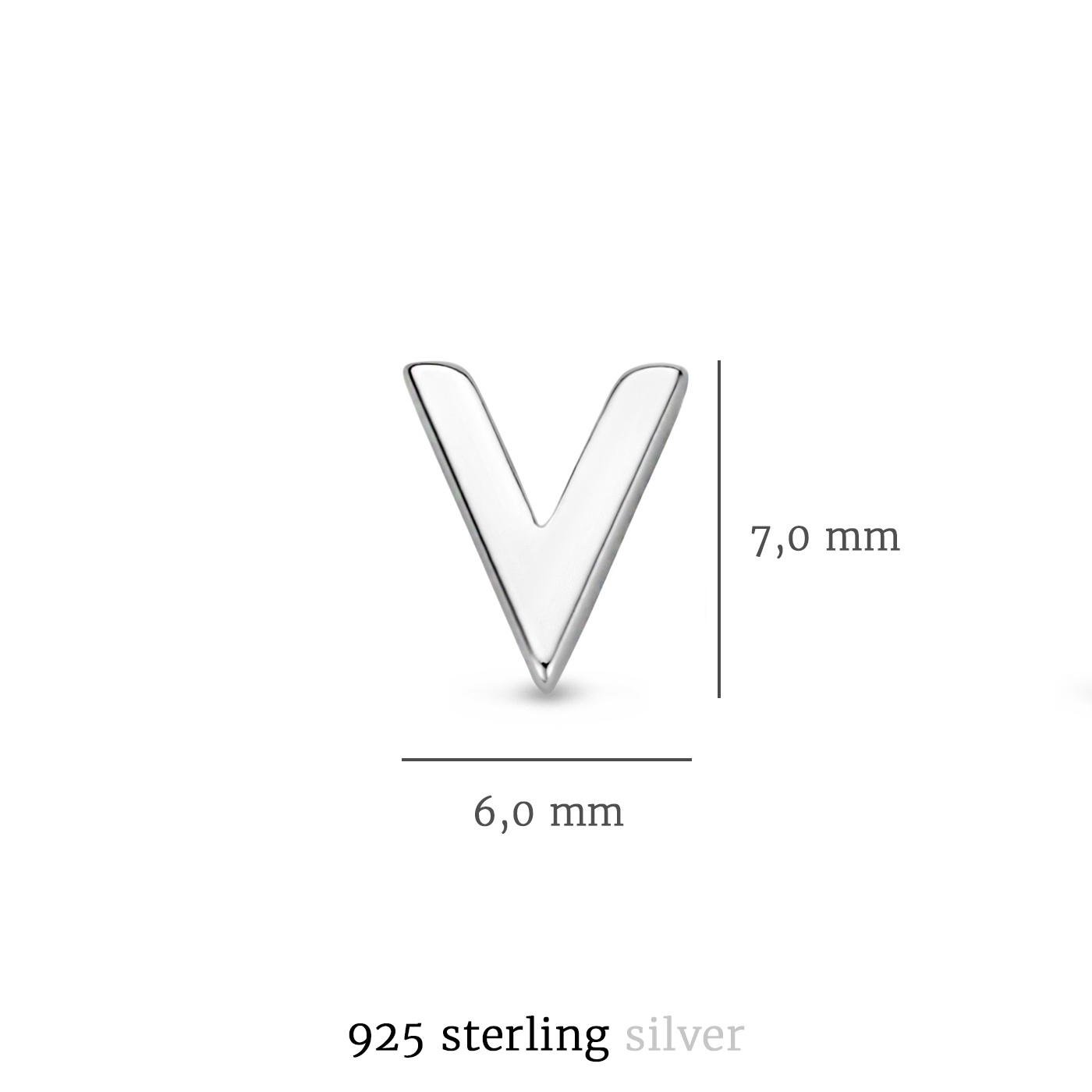 Selected Jewels Julie Charlotte 925 sterling zilveren oorknoppen