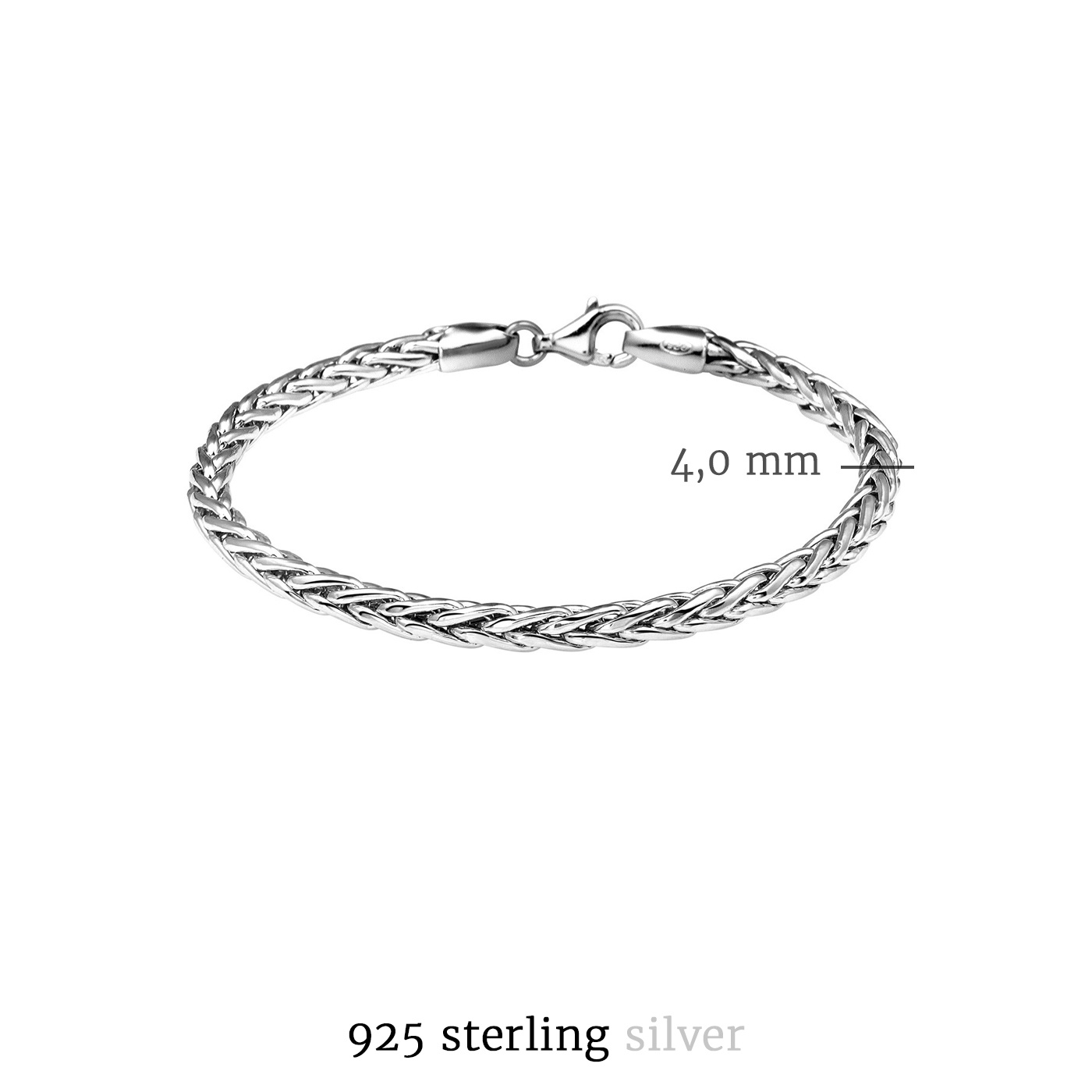 Selected Jewels Emma Vieve armband i 925 sterling silver