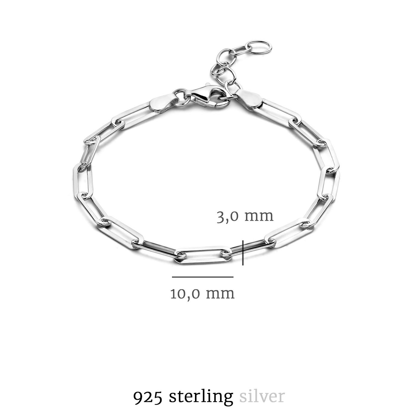 Selected Jewels Emma Jolie 925 sterling sølv armbånd