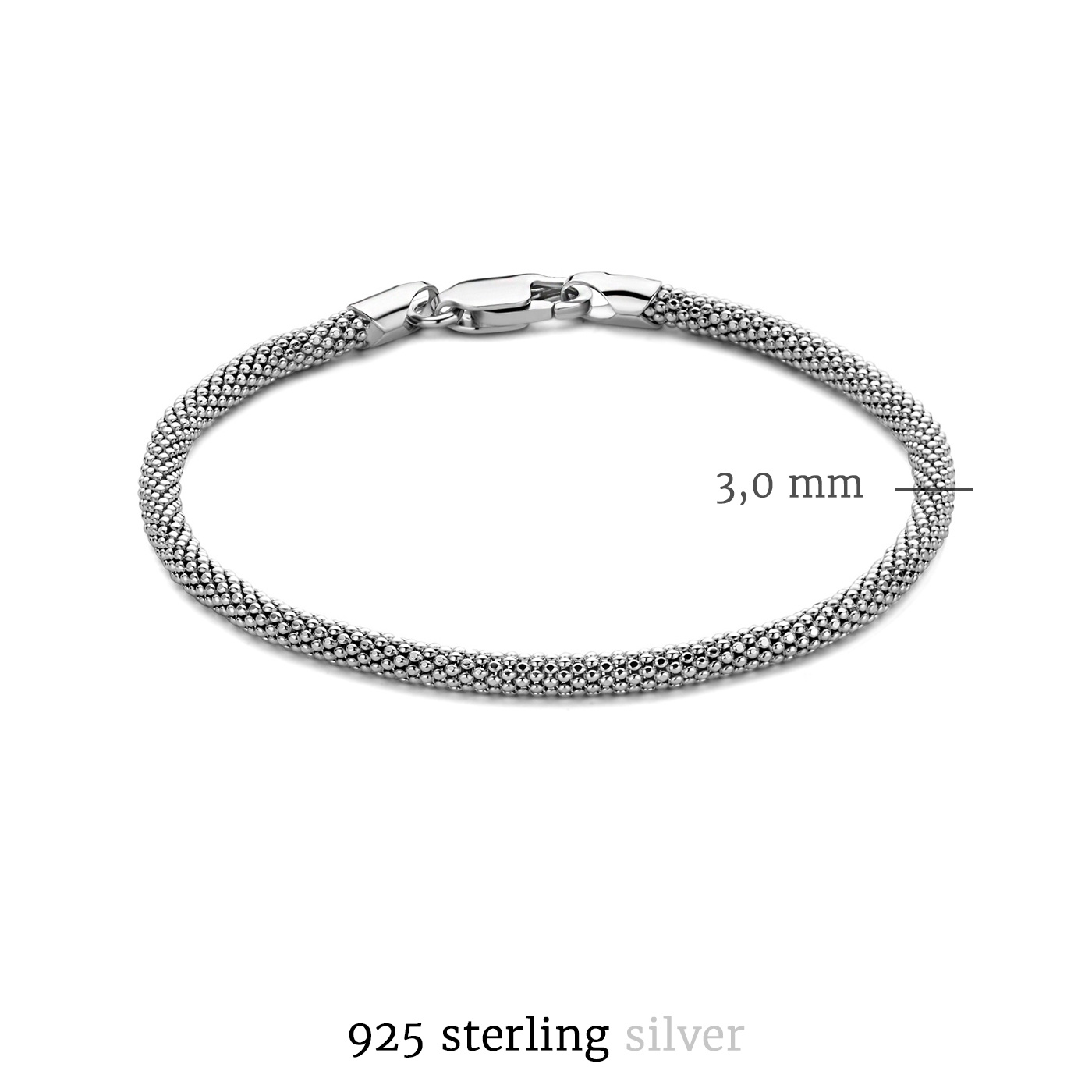Selected Jewels Emma Vieve 925 Sterling Silber Armband