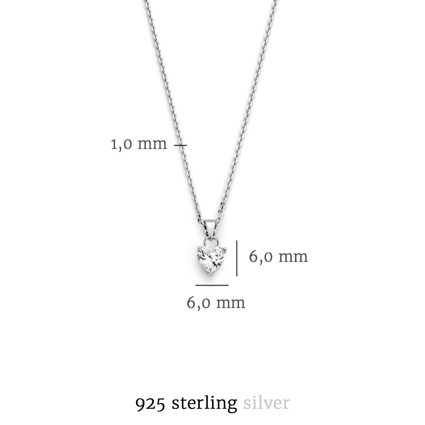 Selected Jewels Mila Elodie 925 sterling sølv halskæde