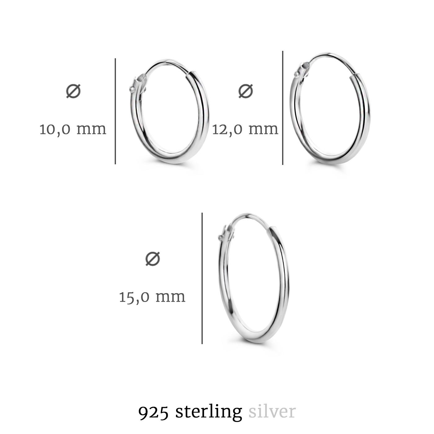 Selected Jewels Selected Gifts uppsättning örhängen i 925 sterling silver