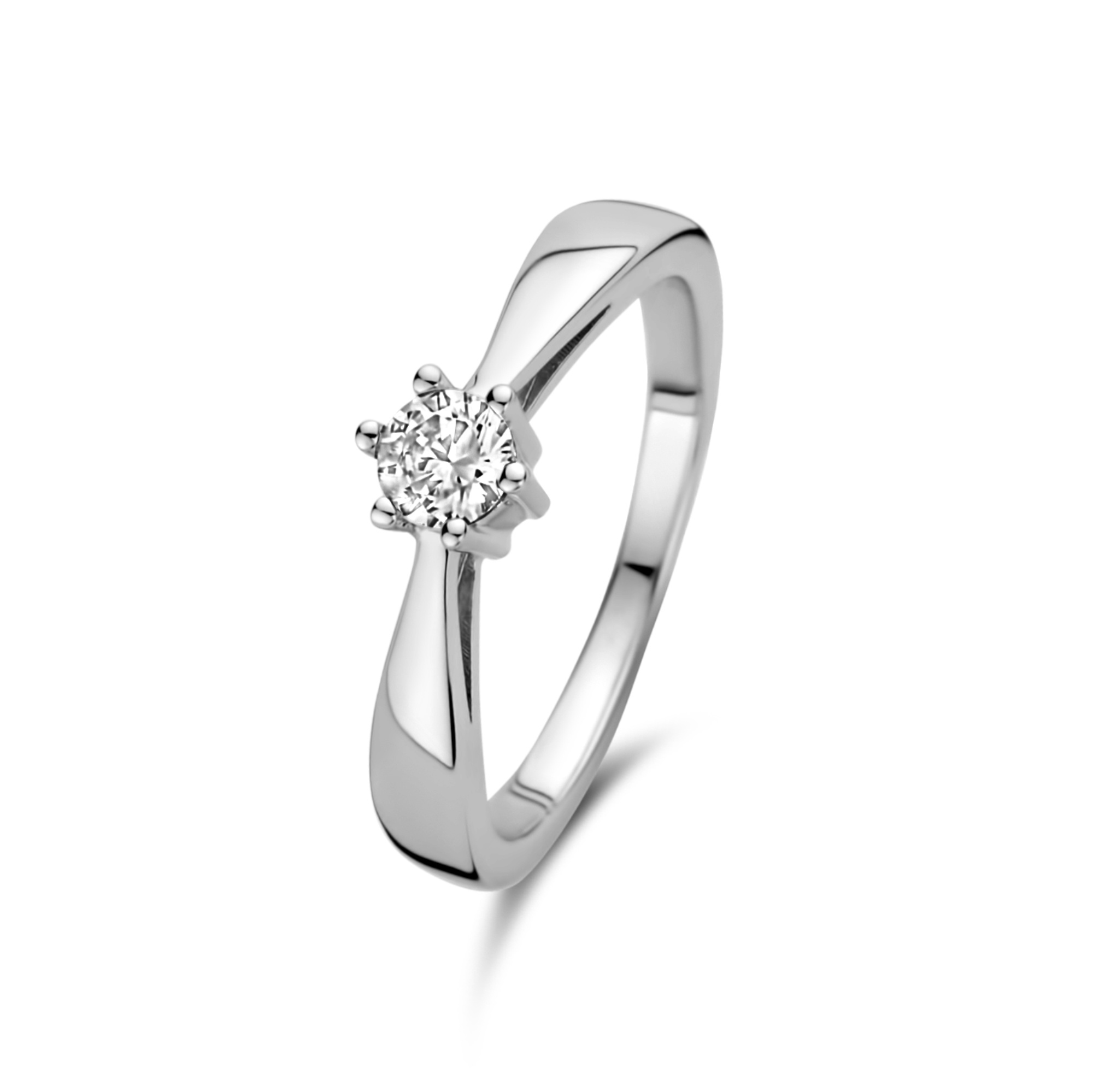 Selected Jewels Mila Elodie anello in argento sterling 925