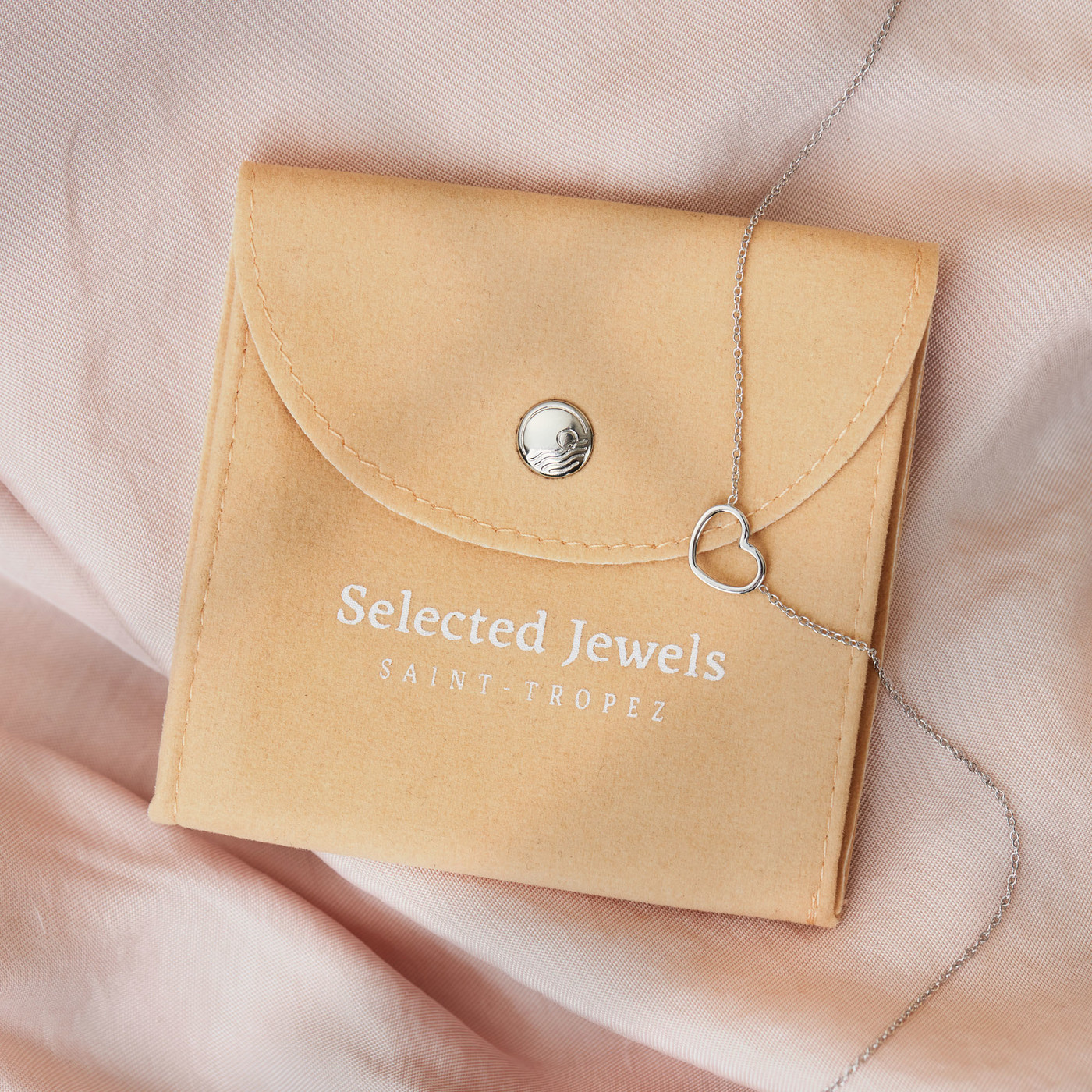 Selected Jewels Zoé 925 sterling zilveren creolen