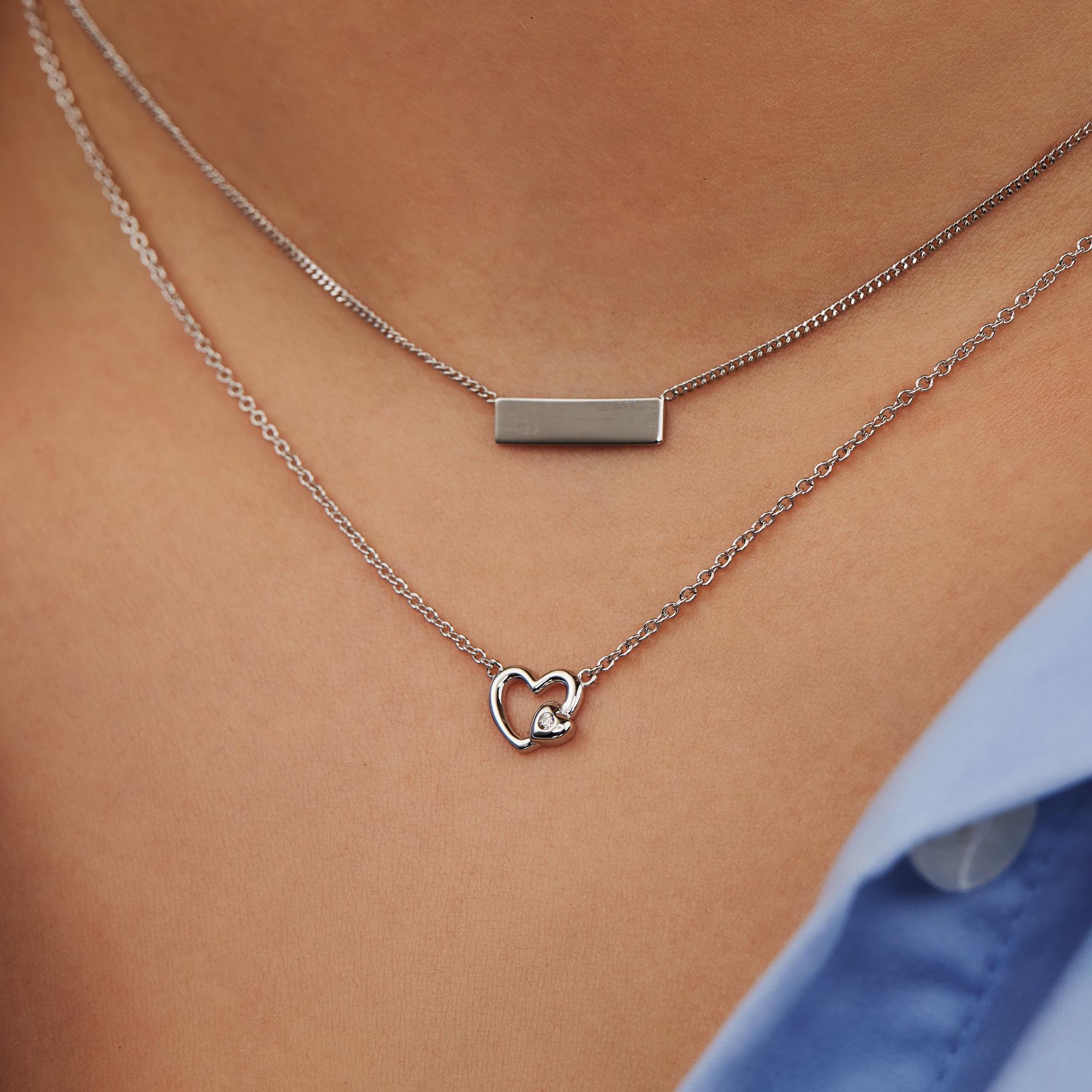 Selected Jewels Aimée collier en argent sterling 925
