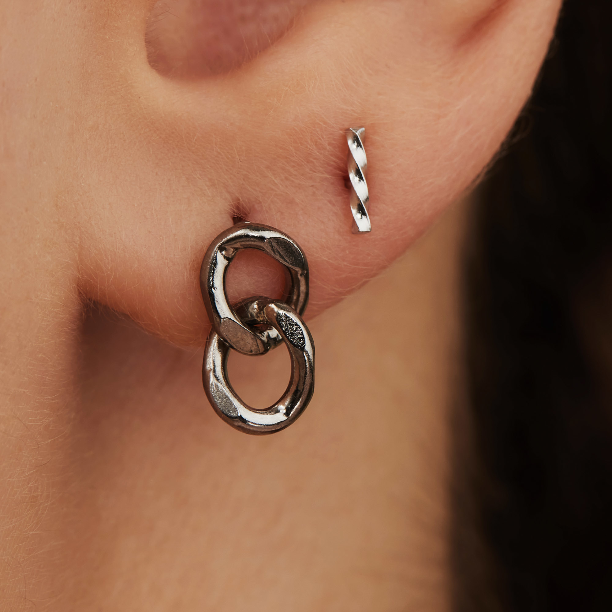Selected Jewels Selected Gifts 925 sterling silver earrings set of 2 pairs of earrings