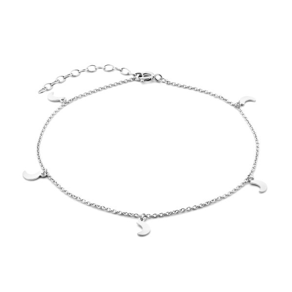 Selected Jewels Julie Louna cavigliera in argento sterling 925