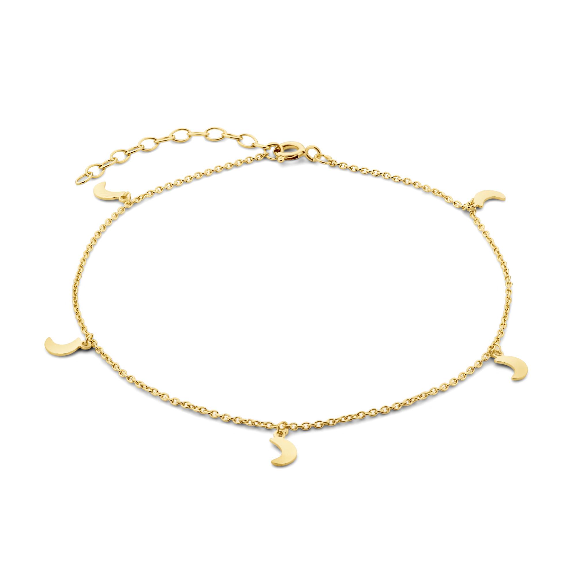 Selected Jewels Julie Louna 925 sterling silver guldfärgad vristlänk