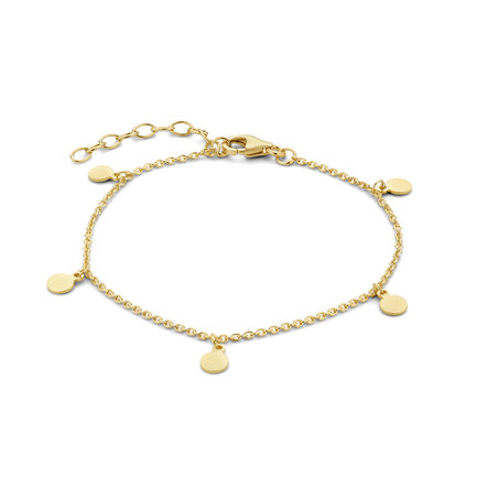 Selected Jewels Julie Belle bracciale color oro in argento sterling 925