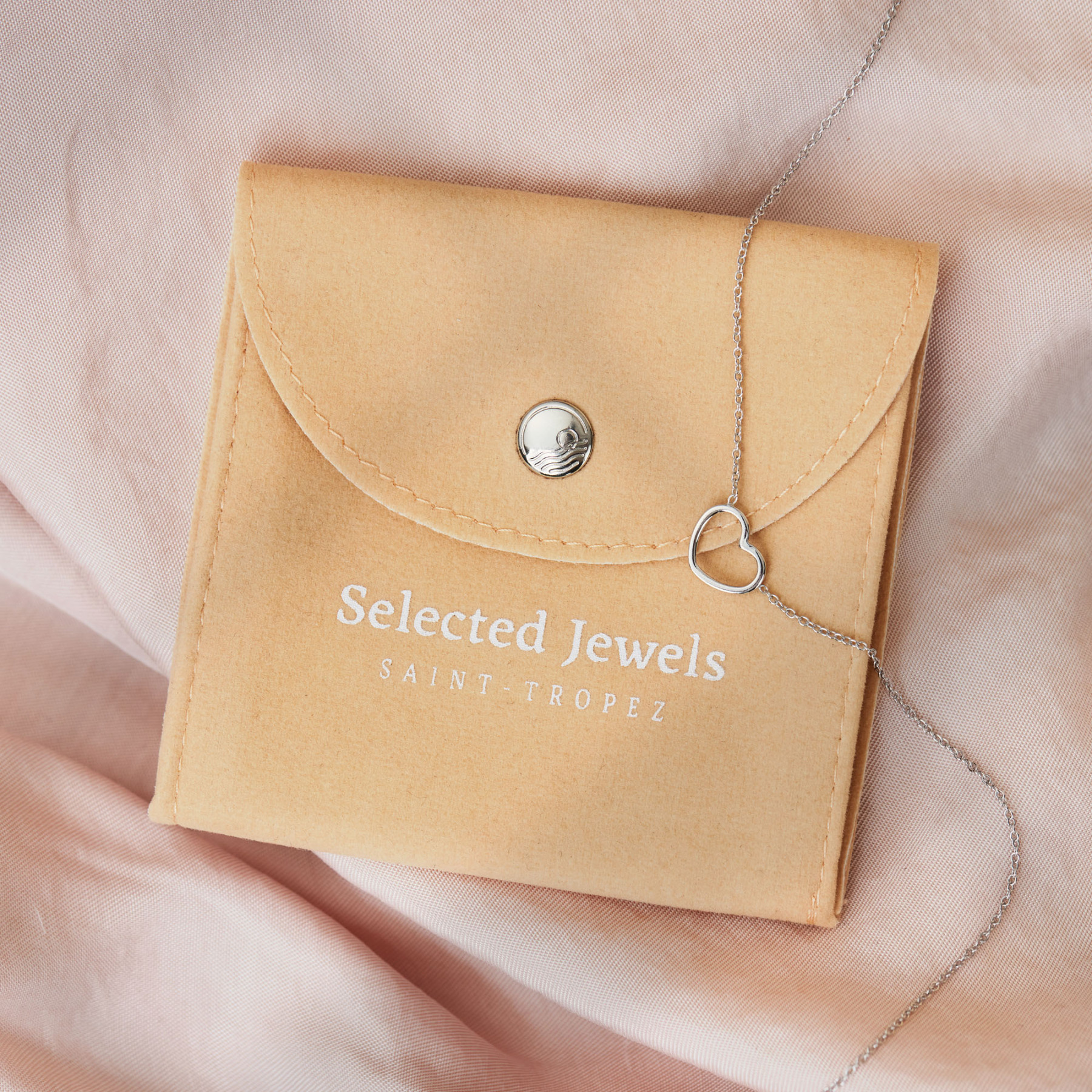 Selected Jewels Julie Charlotte collana color oro in argento sterling 925