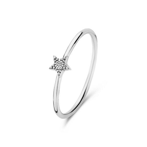 Selected Jewels Julie Esthée anello in argento sterling 925