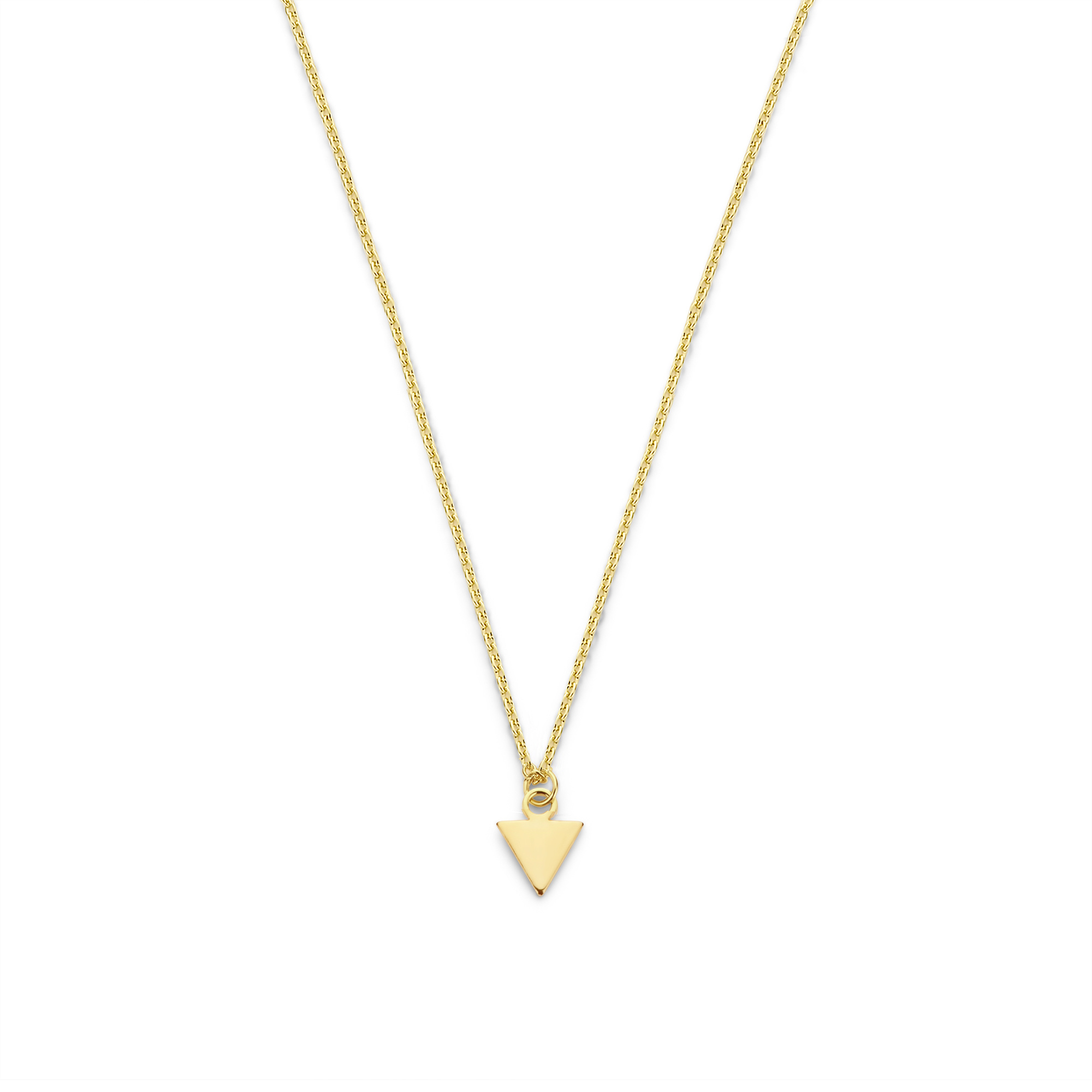 Selected Jewels Julie Charlotte 925 sterling silver gold colored necklace