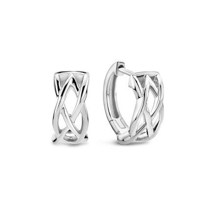 Selected Jewels Emma Vieve 925 sterling zilveren creolen