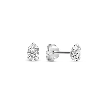 Selected Jewels Mila Elodie orecchini a bottone in argento sterling 925