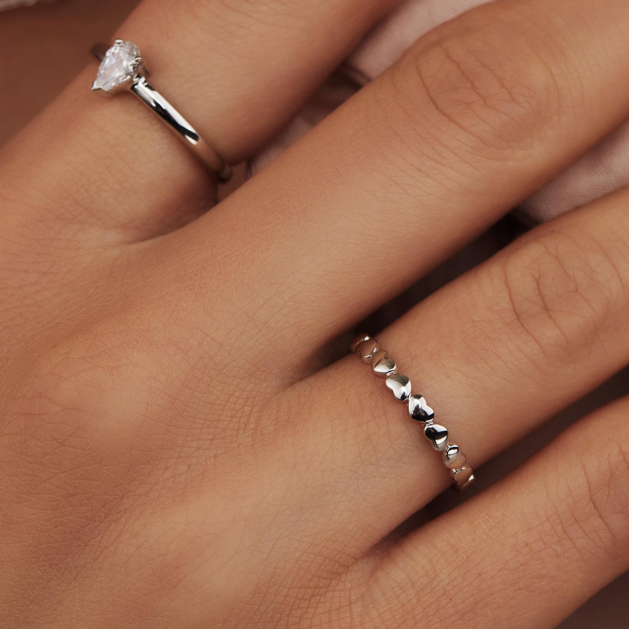 Selected Jewels Aimée 925 sterling zilveren ring