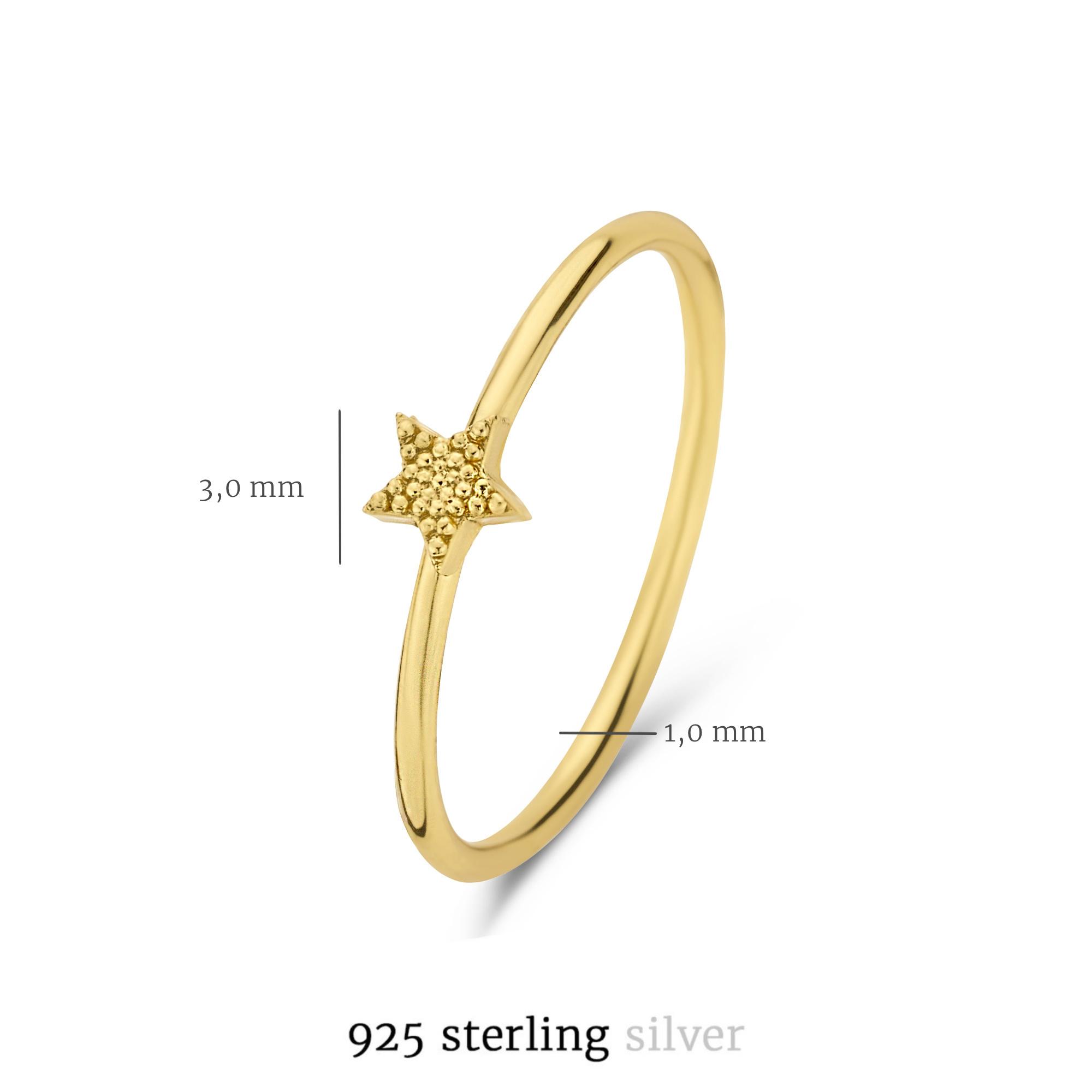 Selected Jewels Julie Esthée 925 sterling silver guldfärgad ring
