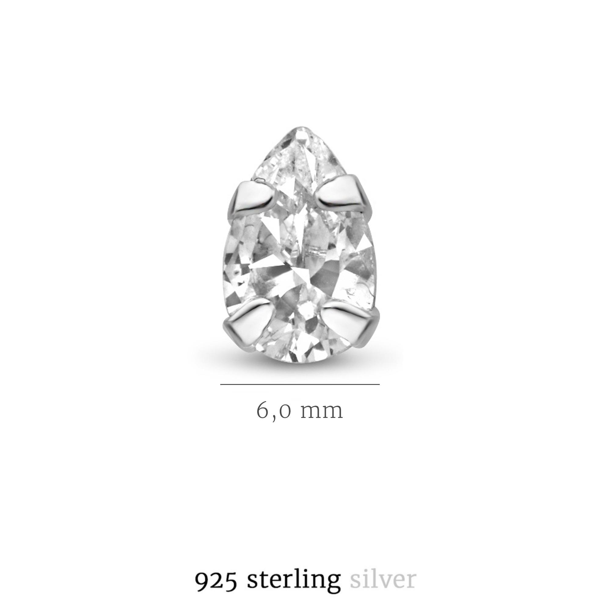 Selected Jewels Mila Elodie 925 sterling zilveren oorknoppen