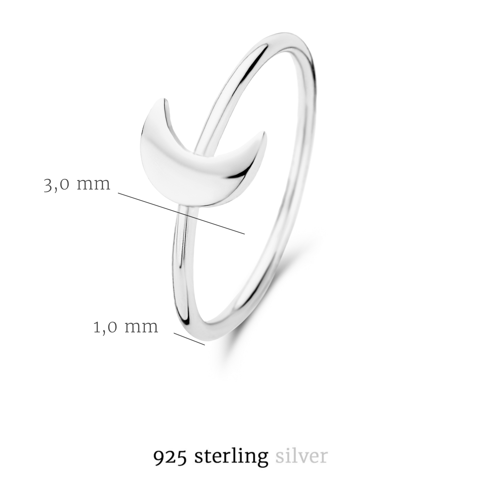 Selected Jewels Julie Louna 925 sterling silver ring
