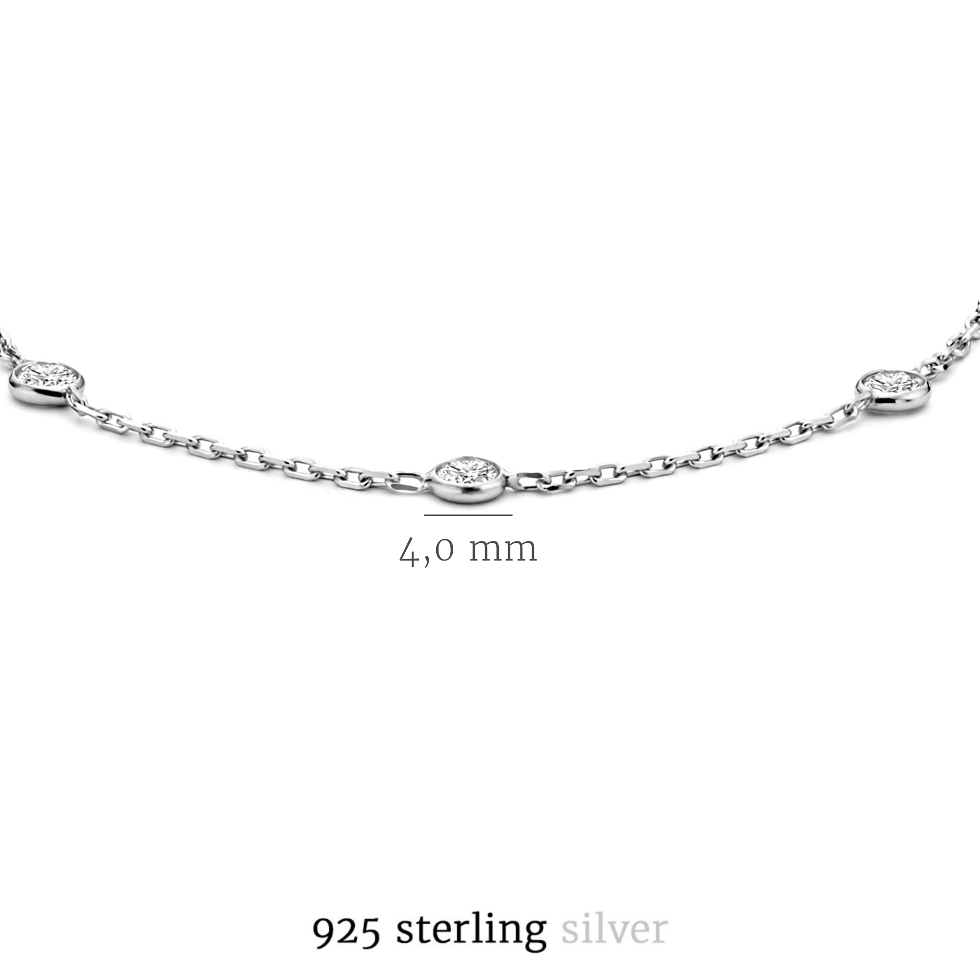 Selected Jewels Mila Elodie armband i 925 sterling silver