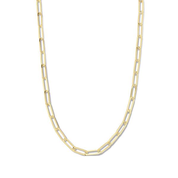 Selected Jewels Emma Jolie 925 sterling silver guldfärgad länkhalsband